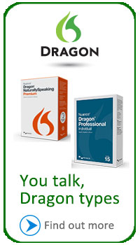 See Dragon NaturallySpeaking and other Nuance products