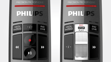 philips speechmike premium controls